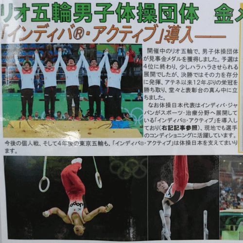 インディバ|体操男子団体