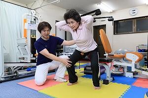 足腰強化トレーニング